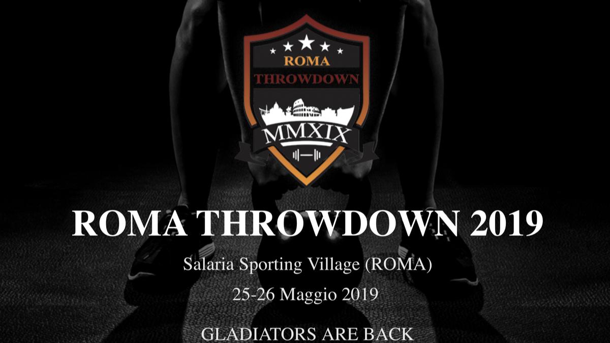 ROMA THROW DOWN 2019