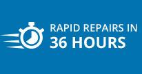 Riparazioni rapide in 36 ore